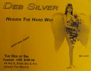 heaven the hard way flyer